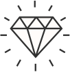 ícone diamante